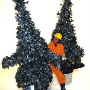 Human Trees - Novelty Xmas Act - Walking Xmas Trees