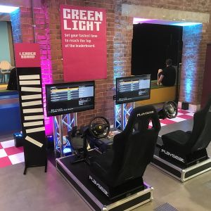 Two Player Racing Simulator and Driving Game