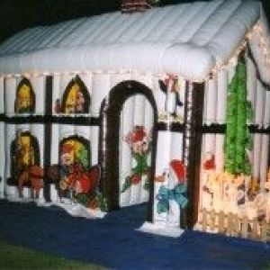 Santas Grotto Hire - Inflatable - Christmas Entertainment
