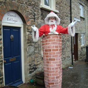 Santa's Stuck up a Chimney - Christmas Entertainment - Father Christmas