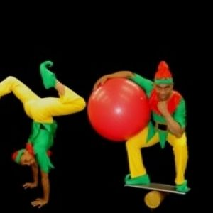 The Acro Elves - Xmas Themed Act