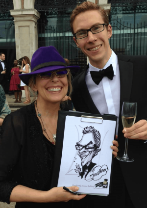 Luisa Calvo - Caricaturist and Corporate Cartoonist