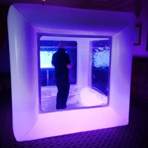 Blizzard Cube - Snow Cube - Corporate and Private Event Hire