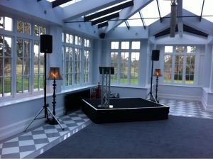 Stage Hire Cambridgeshire - Party Staging