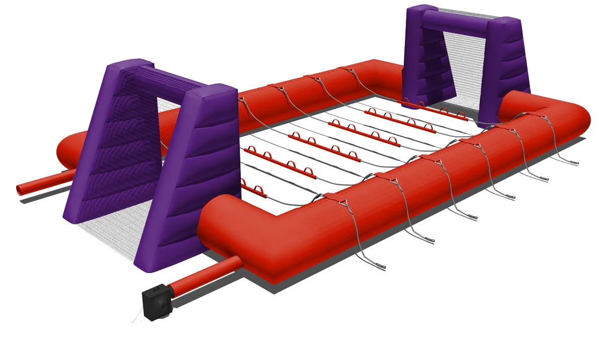 Human Table Football Hire