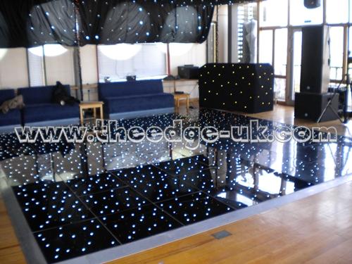 Starlight dancefloor hire white starlight dancefloors for 12 by 12 dance floor
